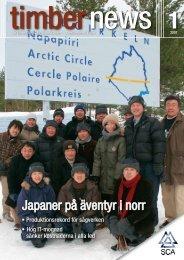 Japaner på äventyr i norr - SCA Forest Products AB