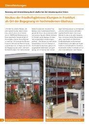 Neubau der Friedhofsgärtnerei Klumpen in Frankfurt ... - greenworks