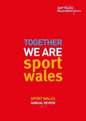 TOGETHER - Sport Wales
