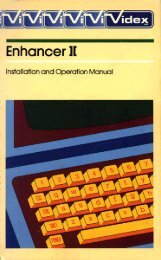 Videx Enhancer II - Installation and Operation Manual.pdf