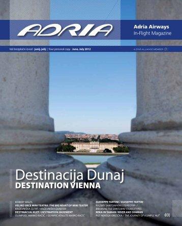Destinacija Dunaj - Adria Airways