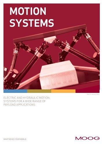 MOTION SYSTEMS - Moog Inc