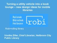new design approaches for mobile libraries at the example of