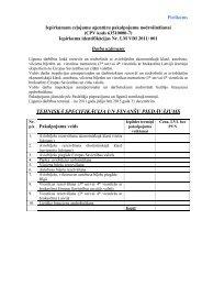 Biroja mēbeļu izgatavošana, piegāde un uzstādīšana - Valsts Darba ...