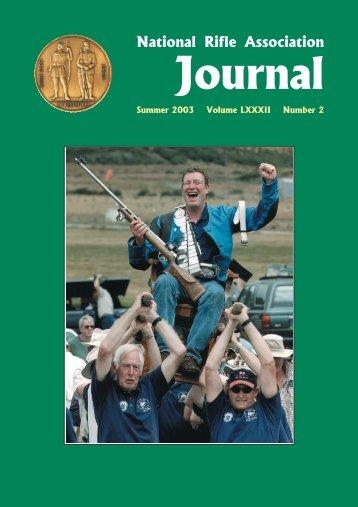 NRA Journal - Summer 2003 - National Rifle Association