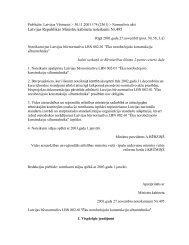 Latvijas Republikas Ministru kabineta noteikumi Nr.495