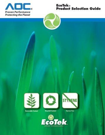 EcoTek® Product Selection Guide - AOC
