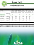 EcoTek® Product Selection Guide - AOC - Page 5