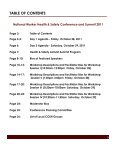 2011 National COSH Health & Safety Conferenc - National Council ... - Page 3