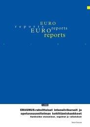reports - CIMO Kansainvälisen liikkuvuuden ja yhteistyön keskus