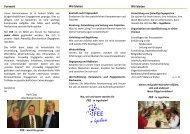 FEE (Freiwillig Ehrenamtlich Engagiert), Info-Broschüre