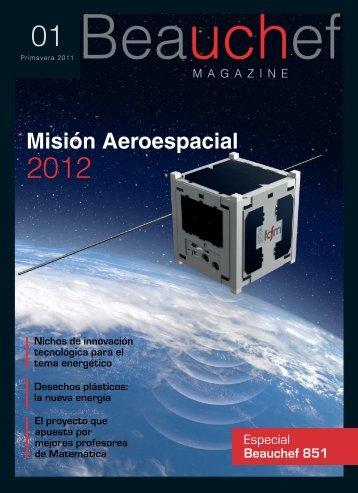 Misión Aeroespacial - Facultad de Ciencias Físicas y Matemáticas ...