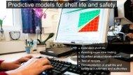 Predictive models for shelf life and safety (863 KB)
