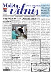 2011 m. balandžio 1 d., penktadienis Nr.26 - 2013 - VILNIS
