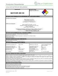 baycor 300 cd - Bayer de Mexico