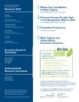 West Virginia Business & Economic - WVU College of Business and ... - Page 2