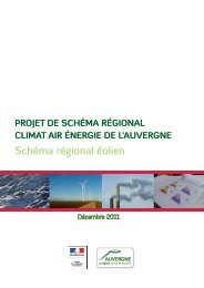 Schéma régional éolien - Webissimo