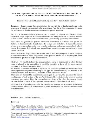 BANCO EXPERIMENTAL DE ENSAYO DE ... - LENHS UFPB