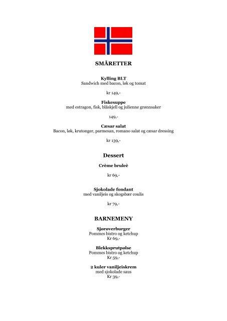 17 MAI MENY - Visit Haugesund