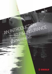 An introduction to P&I Insurance for Mariners - Skuld