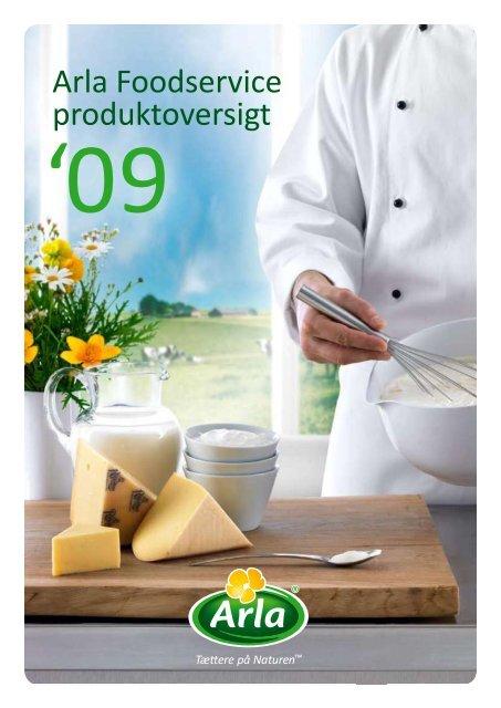 Arla Foodservice produktoversigt