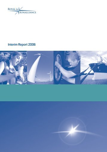 Interim Report 2006 - Royal and Sun Alliance