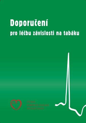 Doporučení pro léčbu závislosti na tabáku - Česká kardiologická ...