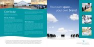 Your own space… your own brand - Wyboston Lakes