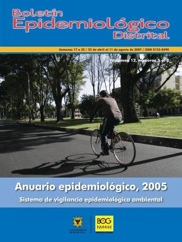 Anuario Ambiente 2005 - Secretaría Distrital de Salud