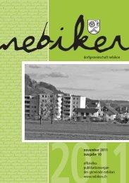Nebiker - November 2011 - Gemeinde Nebikon