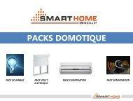 PACKS DOMOTIQUE - Smart-Bus Home Automation