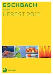 Vorschau Karten Herbst 2012