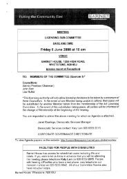 Friday 6 June 2008 at 10 am - Meetings, agendas, and minutes
