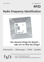 RFID - Radio Frequency Identification - FIfF