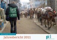 Jahresbericht 2011 - PBI