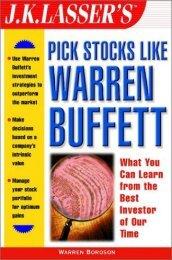 JK Lasser's Pick Stocks Like Warren Buffett - Dimensionetrading.com