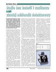Radio bez baterii i zasilacza, czyli odbiornik detektorowy - Elportal