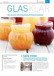 SAVE FOOD - Aktionsforum Glasverpackung