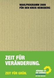 Die Grünen-Broschüre_Internet.indd - Bündnis 90 / Die Grünen im ...