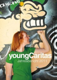 Jahresbericht 2011 - youngCaritas