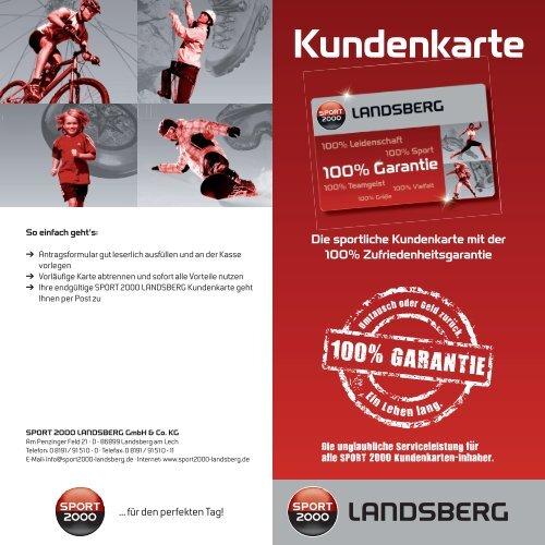 19.95 SPORT 2000 Landsberg