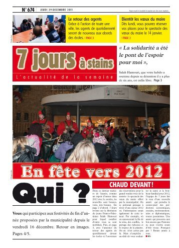 Télécharger le journal [.pdf] - Ville de Stains