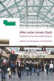 Alles unter einem Dach - CeBiTec - Universität Bielefeld