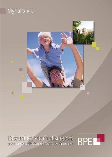L'assurance-vie multisupport, - BPE