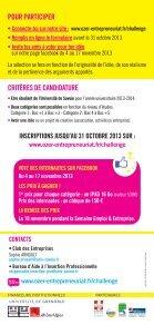 Challenge de l'idée ! - Université de Savoie - Page 2