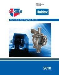 Water Pumps Application Guide - CARQUEST Auto Parts