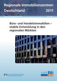 Regionale Immobilienzentren Deutschland 2011 - DG Hyp