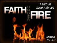 Faith In Real Life #1 - Graymere church of Christ