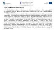 Opis projektu - Instytut Filozofii i Socjologii PAN