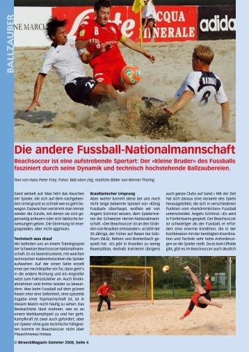 Die andere Fussball-Nationalmannschaft - Birseck Magazin